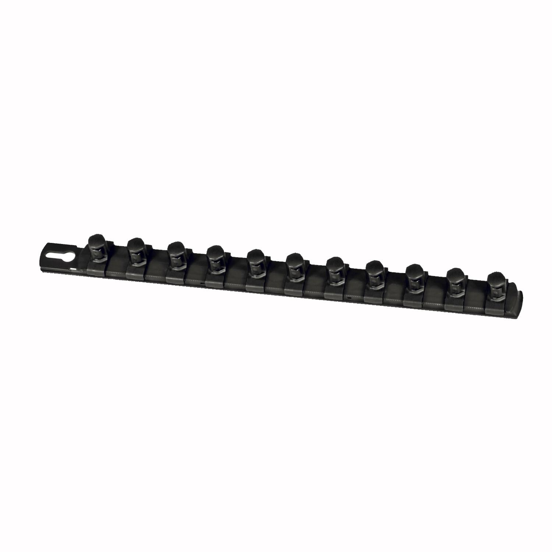8 Inch Socket Organizer with 9 3//8 Inch Twist Lock Clips Tools Equipment Tray