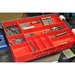 5010 Ten Compartment Organizer Tray-Red - 5010