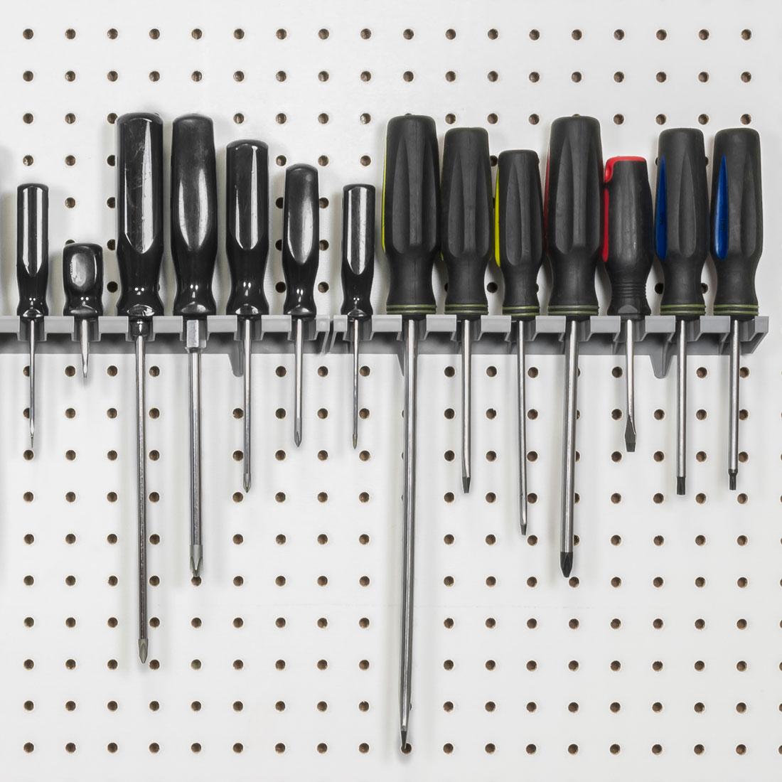5350 8 Tool V Slot Screwdriver Organizer Gray 5350