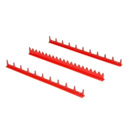 6010 20 Tool Screwdriver Rail Set - Red