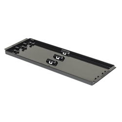 "8432 3 Rail Socket Boss Tray 13"" - Black - tray only"