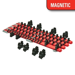 8470 Magnetic Twist Lock Complete Socket System - Red socket holders organizers, best socket organizer, socket set organizer, tool box socket organizers, magnetic socket organizer, tool socket organizer, socket tray organizer, socket organization, socket rail organizer, snap on socket organizer, socket organizer diy, socket holder, magnetic socket holder, socket holders, magnetic socket holders, snap on socket holder, socket set holder, best socket holder, plastic socket holder, socket holder magnetic, socket holder rail, ernst socket rails, magnetic socket rail, socket rails, socket rail, rails socket, socket rails and clips, best socket rails, ernst socket organizer, socket storage, twist lock, twistlock, twist socket, twist socket set, socket lock, lock a socket, snap on socket set