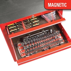 8480 Magnetic Twist Lock Complete Tool System - Red
