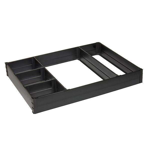 box ii drawers toolbox organizers deeprail tool two divider drawer rolling rails tbdd