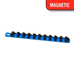 Magnetic Socket Organizer w/Twist Lock Clips
