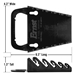 5043 GRIPPER Wrench Organizer-Black - 5 Tool - 5043