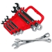 Gripper Wrench Organizer with tools