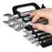 5085 GRIPPER Wrench Organizers-Black - 9 Tool - 5085