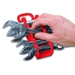 5072 GRIPPER Stubby Wrench Organizers-Red - 7 Tool - 5072