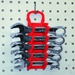 5076 GRIPPER Stubby Wrench Organizers-Red - 11 Tool - 5076
