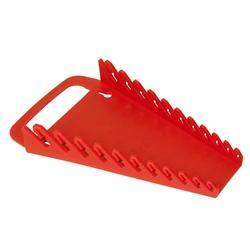 5086 GRIPPER Wrench Organizer-Red - 11 Tool