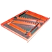 6014T 40 Tool SPACE SAVER Wrench Rail Organizers - Red - 2-Sided Tape - 6014T