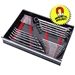 6014M 40 Tool SPACE SAVER Wrench Rail Organizers - Red - Magnetic Tape - 6014M