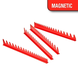 6014M 40 Tool SPACE SAVER Wrench Rail Organizers - Red - Magnetic Tape