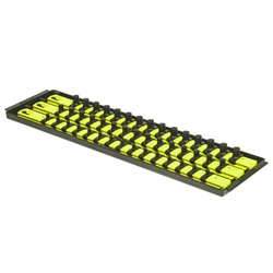 "8460HV 3 Rail Twist Lock Socket Boss 18"" - HIVIZ"
